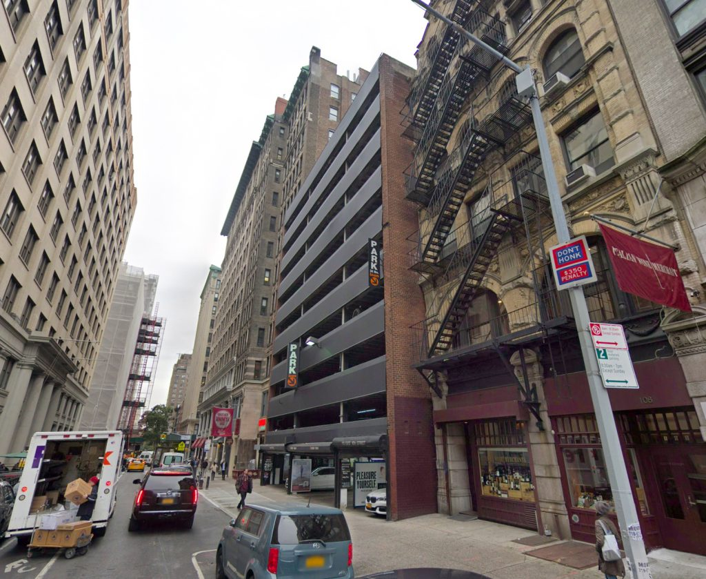 110 East 16th Street, via Google Maps