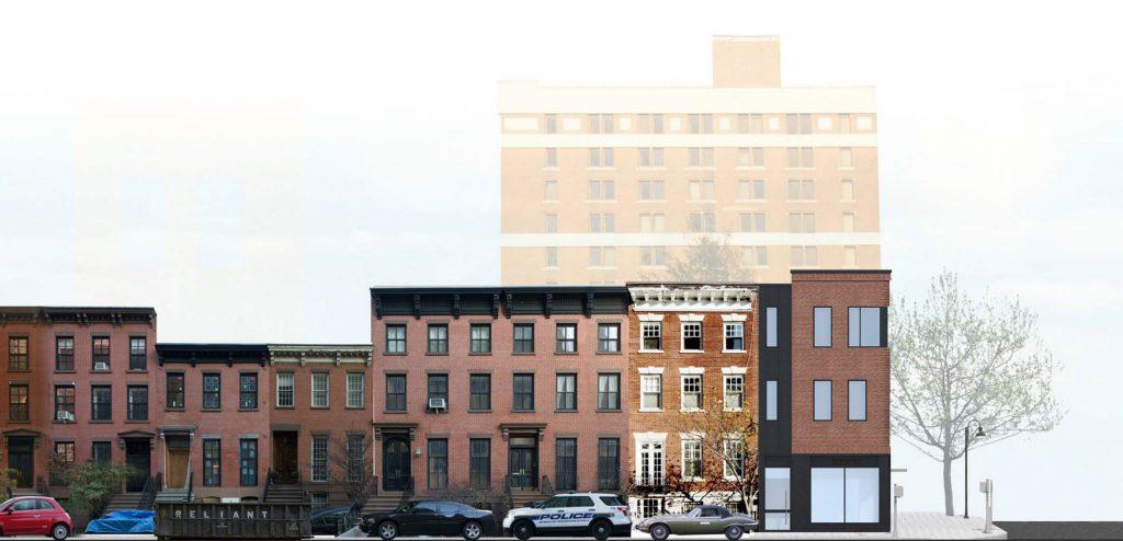 147 Saint Felix Street rendering, image via JRA Design Group