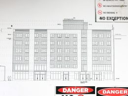 199 Montrose Avenue elevation, image from YIMBY reader
