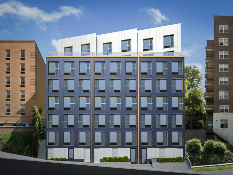 2658-2662 Kingsbridge Terrace, rendering courtesy Ari Thaler