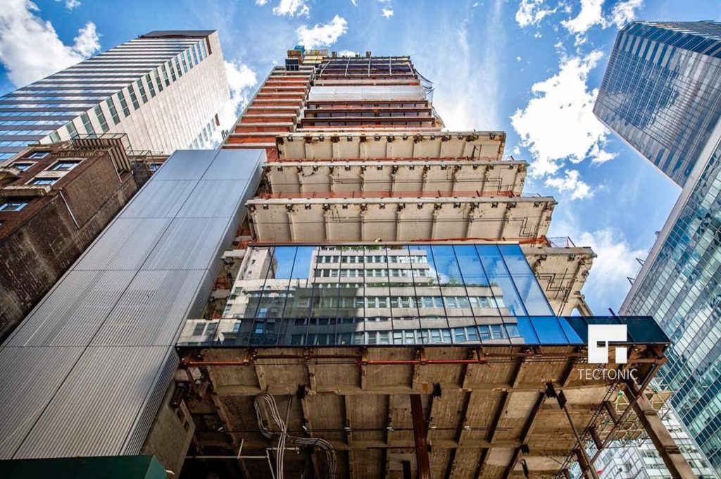 425 Park Avenue facade, image by Tectonic