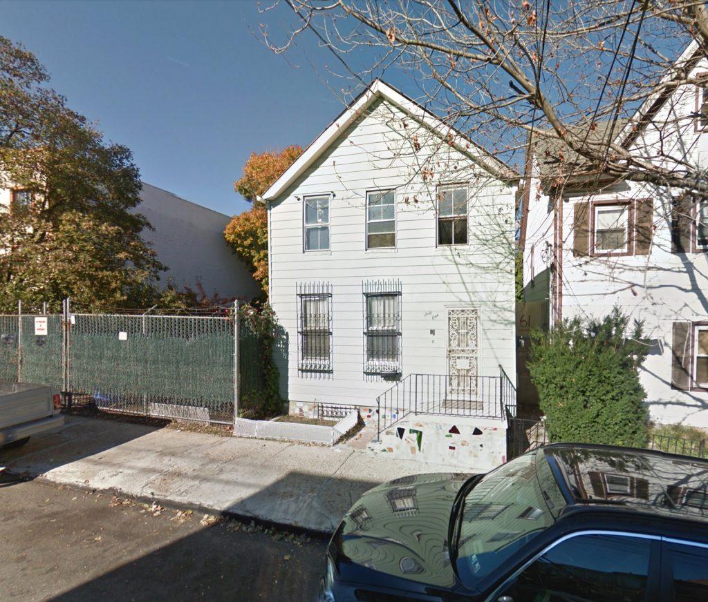 61 Thompson Street, via Google Maps
