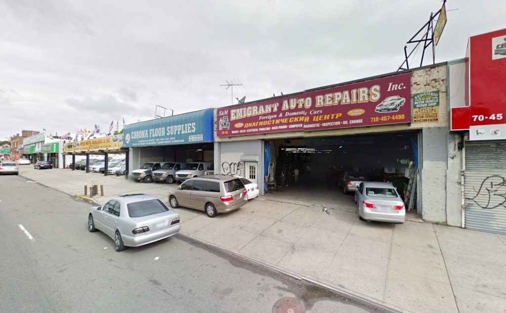 70-40 45th Avenue prior structures, via Google Maps
