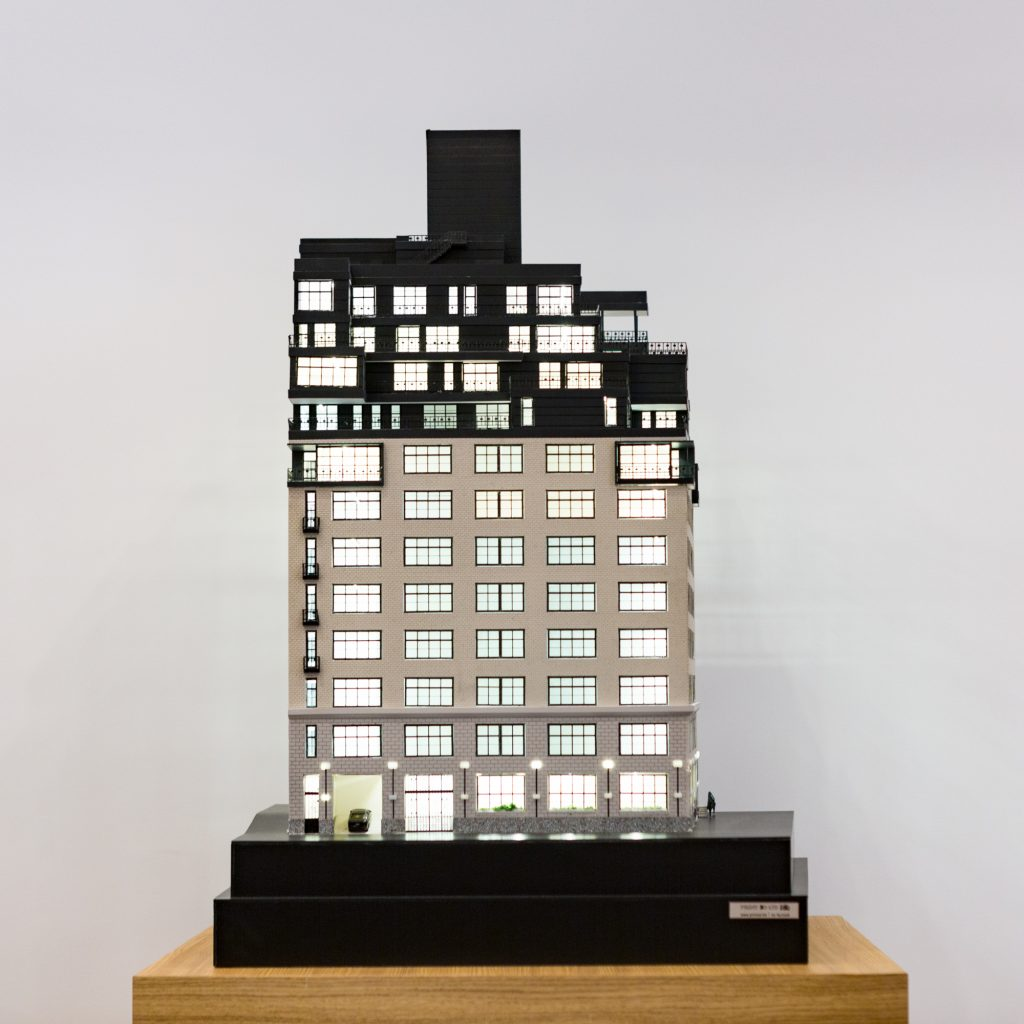 90 Morton Street model, image by Andrew Campbell Nelson