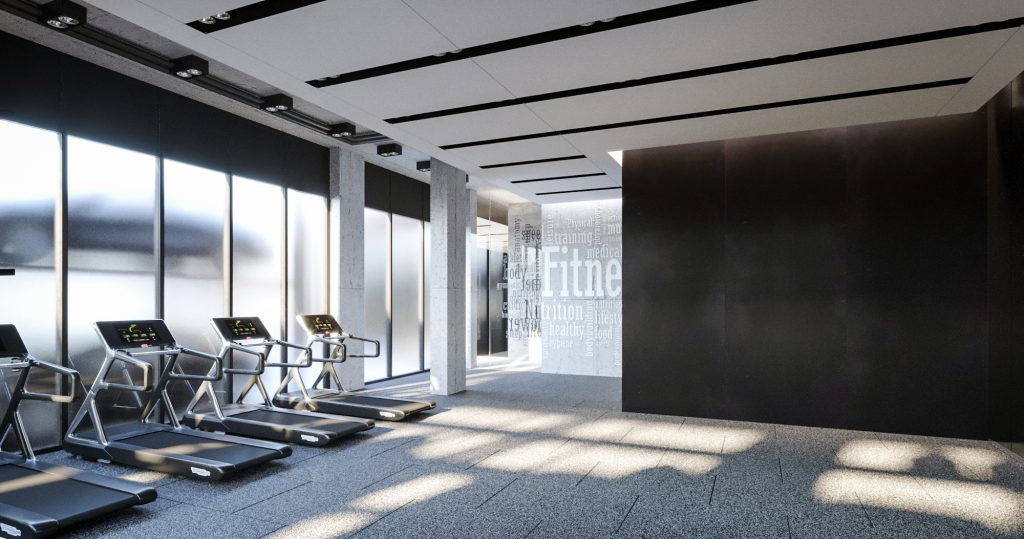 Fitness Center at 123 Hope Street