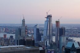 Hudson Yards from 53 West 53rd Street, image by Andrew Campbell Nelson