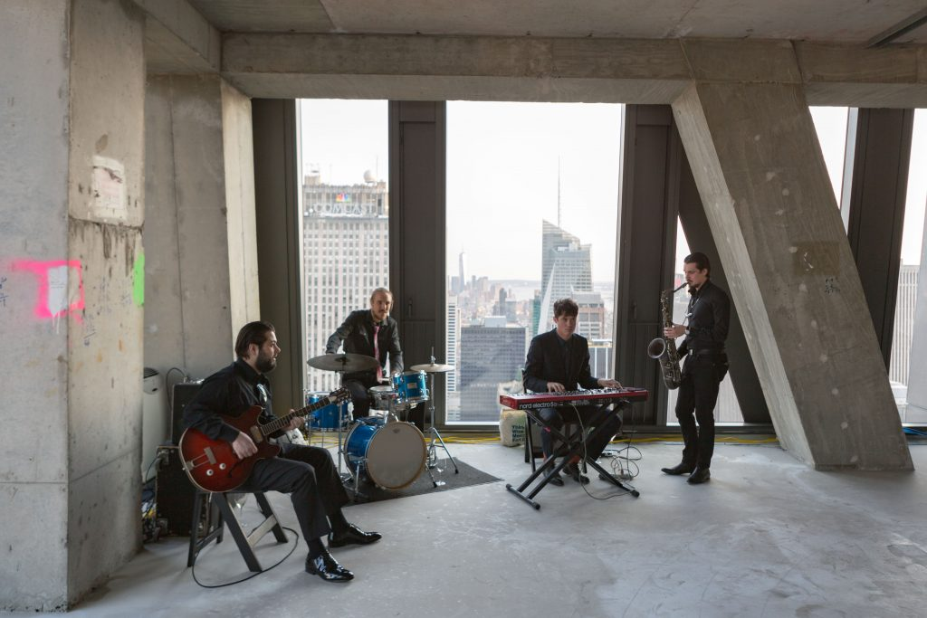 Live music performance at 53 West 53rd Street, image by Andrew Campbell Nelson
