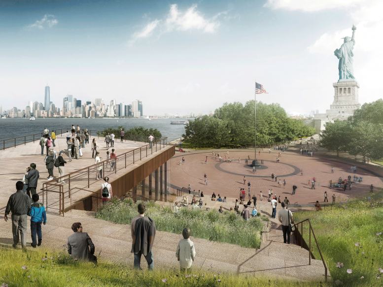 Statue of Liberty Museum's Expansion On Track for May 2019