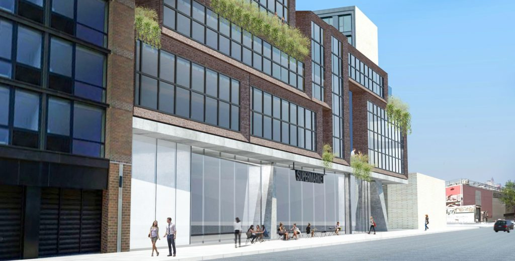 Streetview of 96 North 10th Street, design by wHY Architecture
