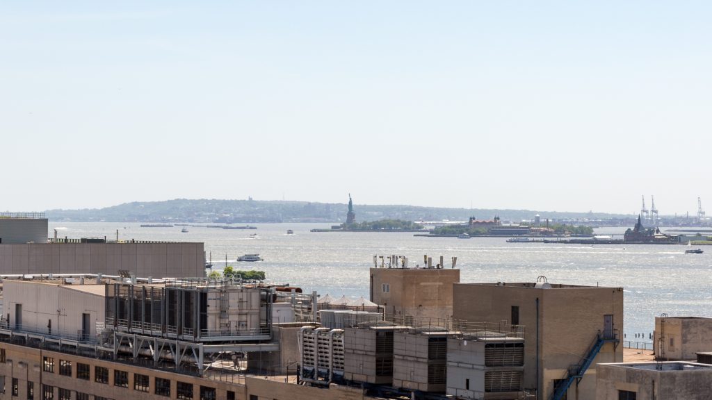 The Statue of Liberty from 90 Morton Street, image by Andrew Campbell Nelson