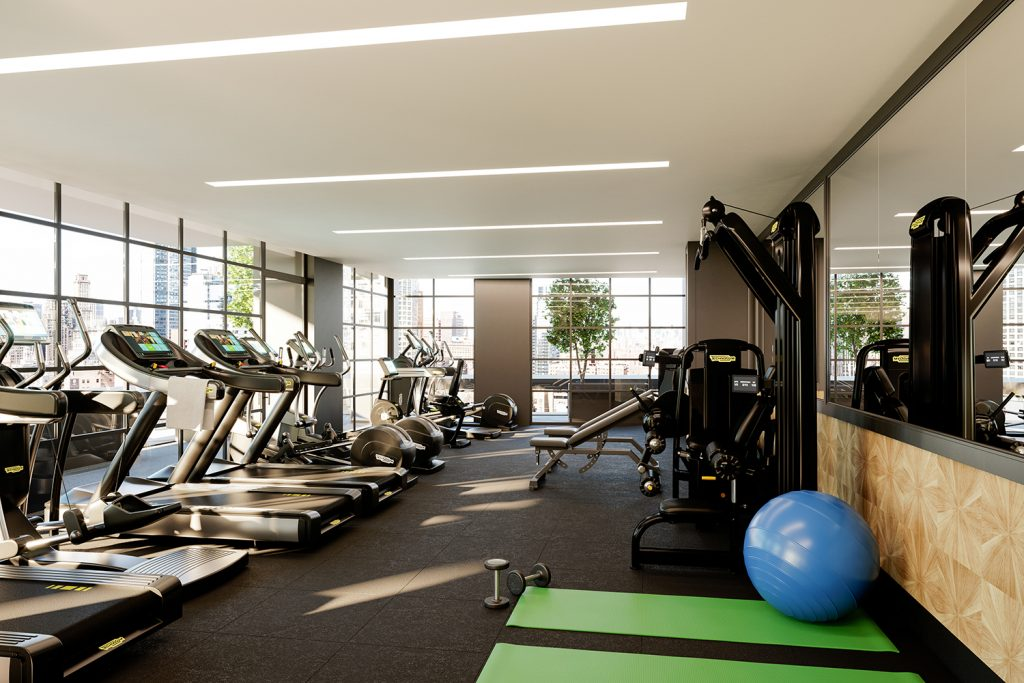 1 Flatbush Fitness Center, rendering by Citi Habitats New Developments