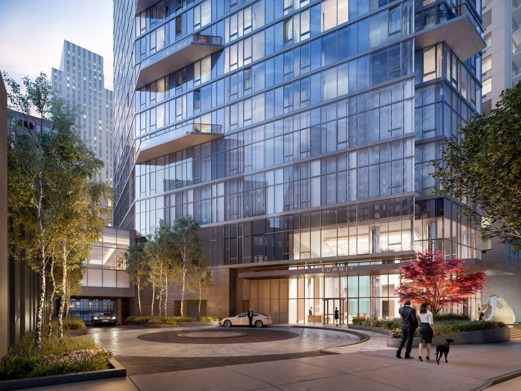 222 East 44th Street base, rendering by Binyan Studios