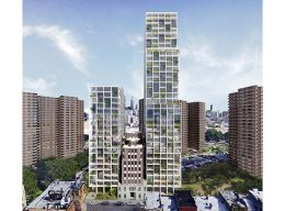 226-232 East Broadway, rendering by S4 Architecture