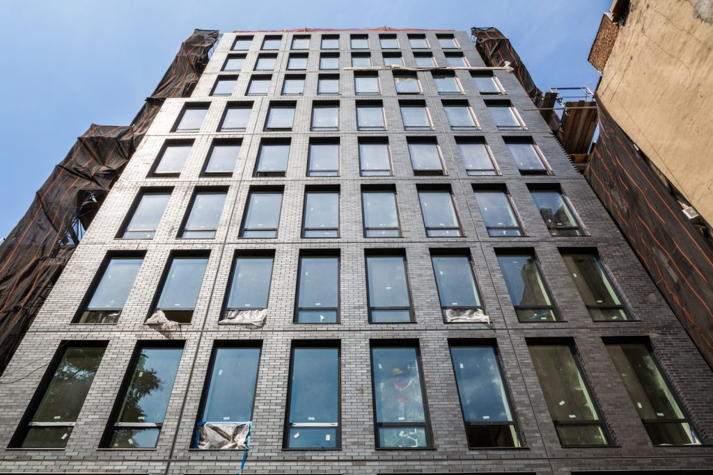 287 East Houston Street facade, image by Robert Granoff