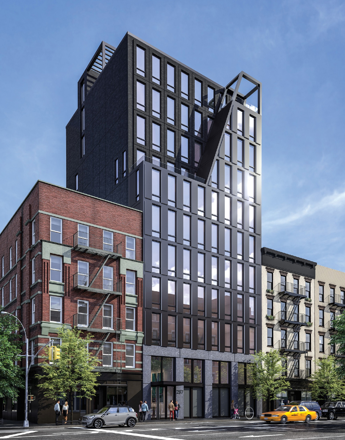 287 East Houston Street, rendering via the teaser website