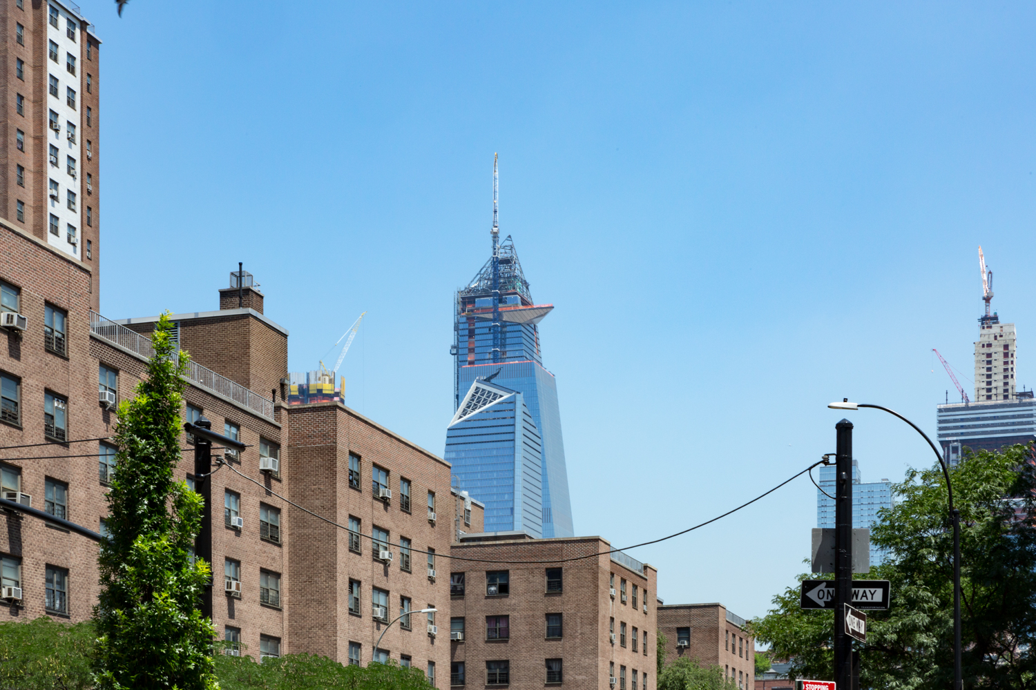 30 Hudson Yards finally topped out, image by Andrew Campbell Nelson