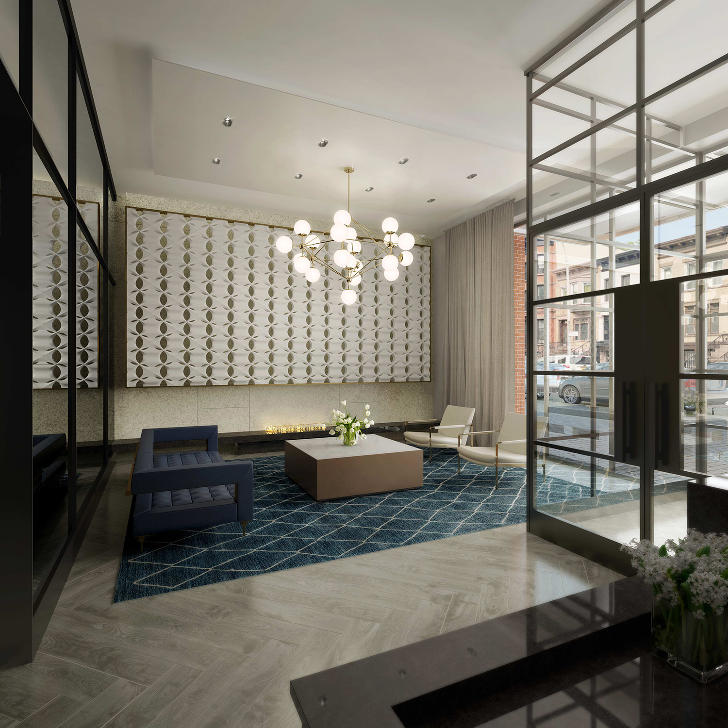 Apartments For Rent In York Me Furnished Under 1000: New Interior Renderings Revealed For 325 Lafayette Avenue