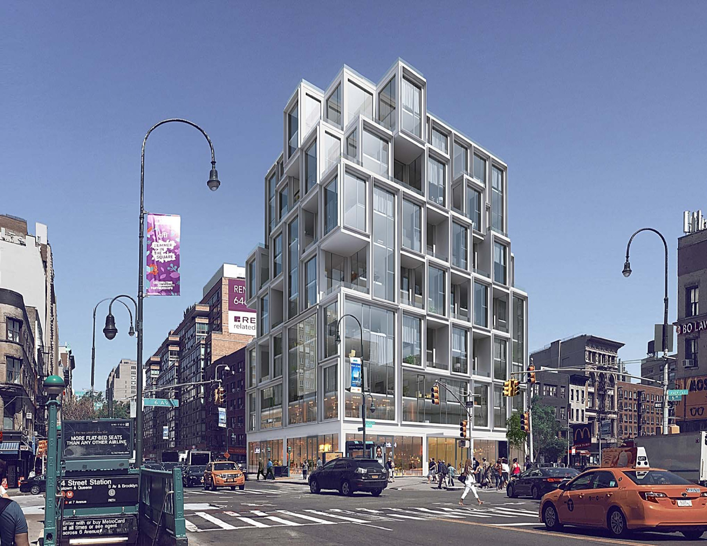 531 Sixth Avenue, rendering by ODA