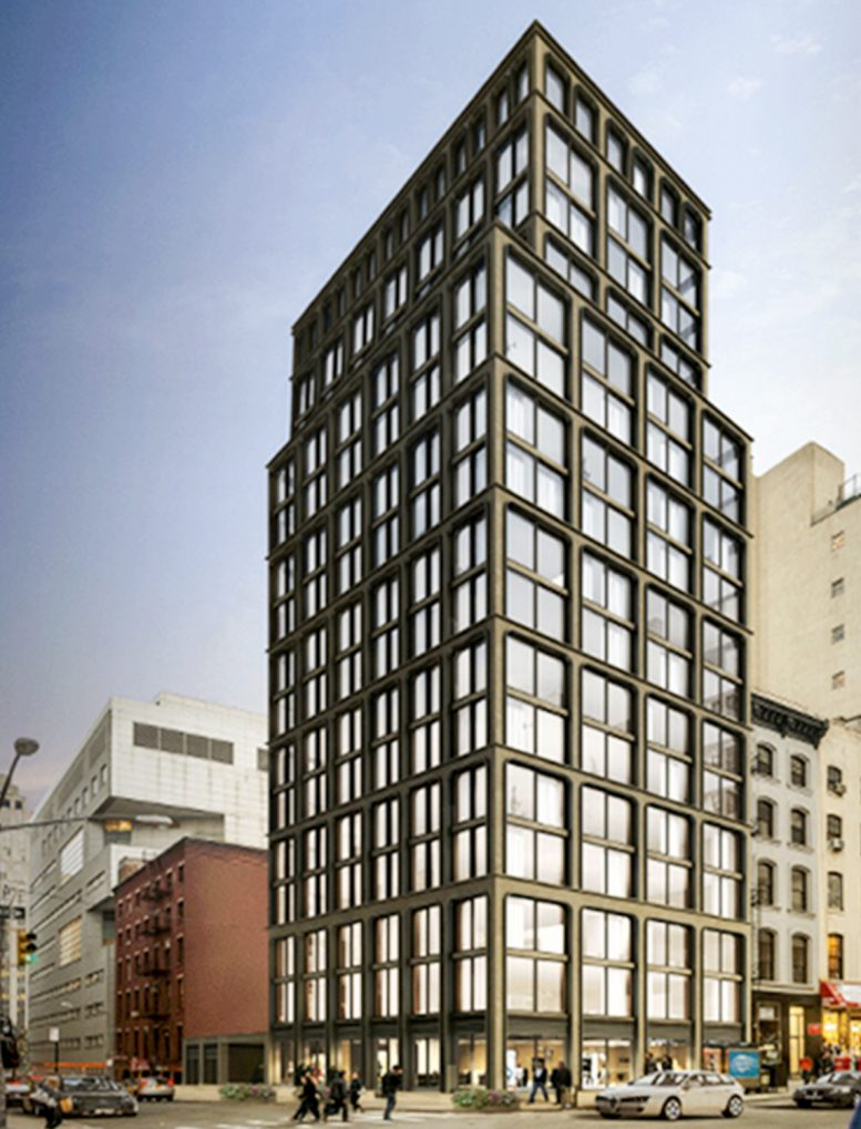 65 Franklin Street, rendering from The Real Deal