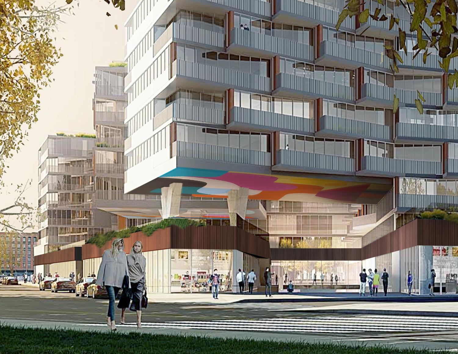 69 Dupont Street Northwest view, rendering via ODA Architecture
