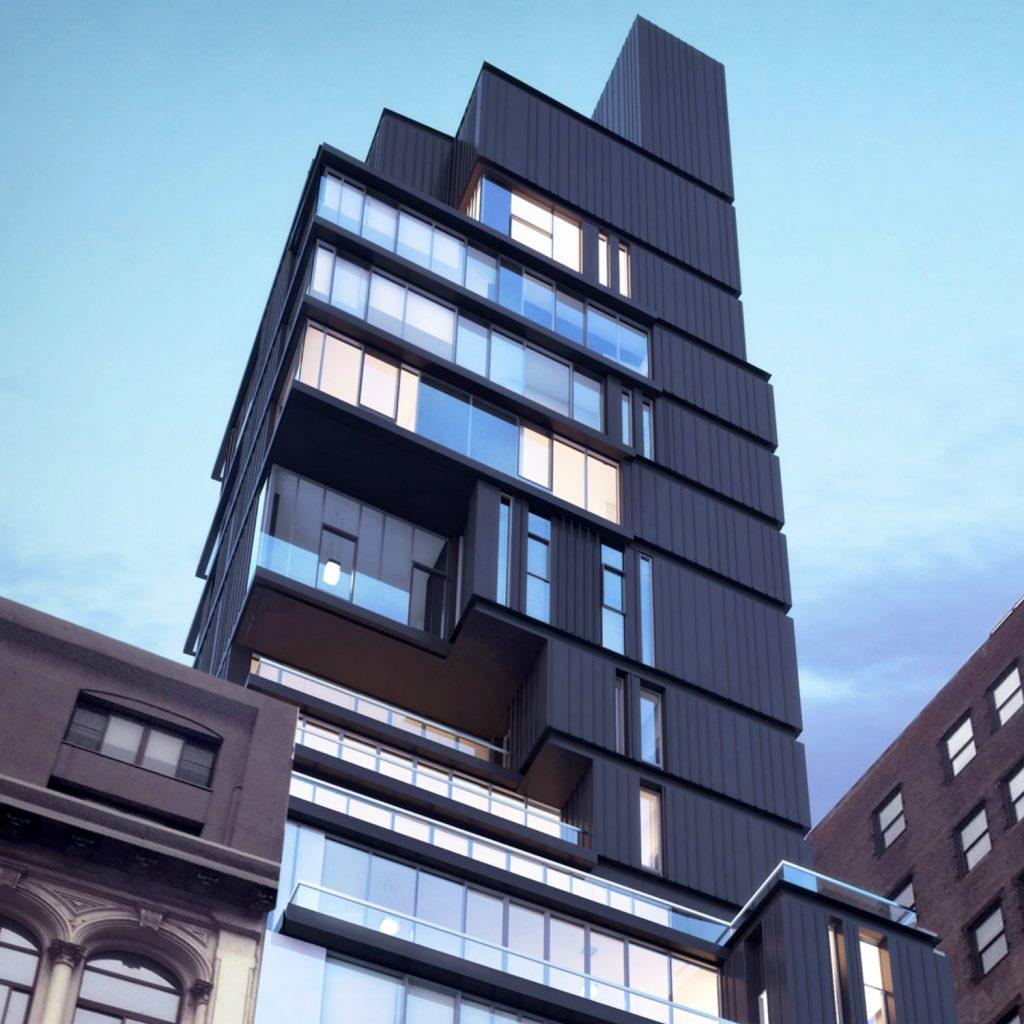 809 Broadway, rendering by ODA
