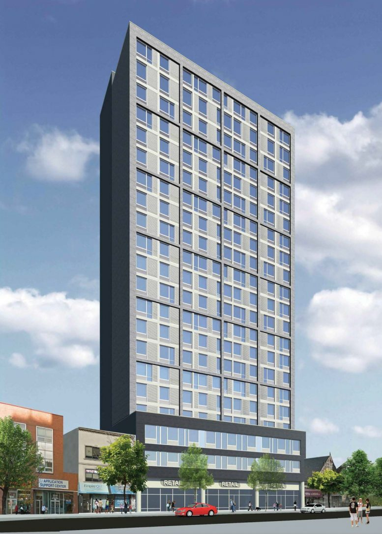 153-19 Jamaica Avenue, rendering courtesy GF55