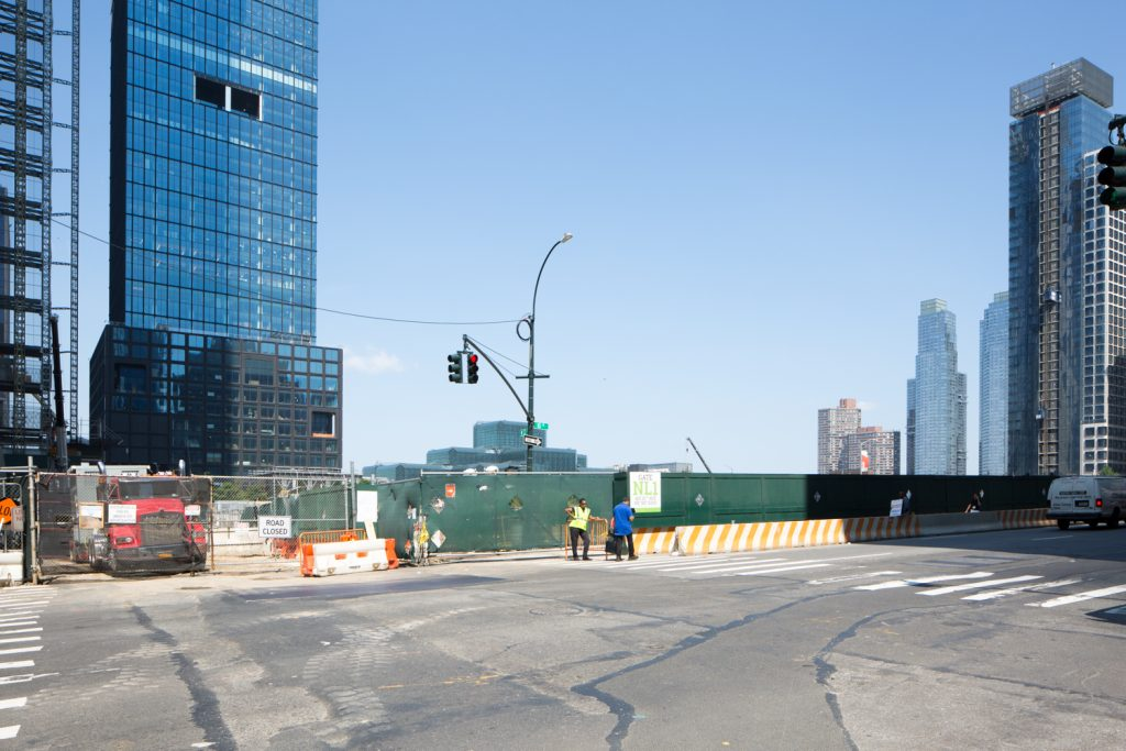 50 Hudson Yards lot, image by Andrew Campbell Nelson