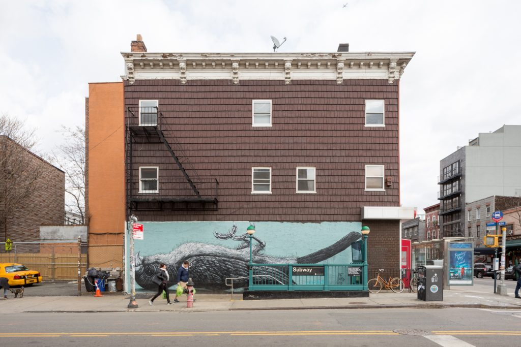 589 Metropolitan Avenue in March, image by Andrew Campbell Nelson