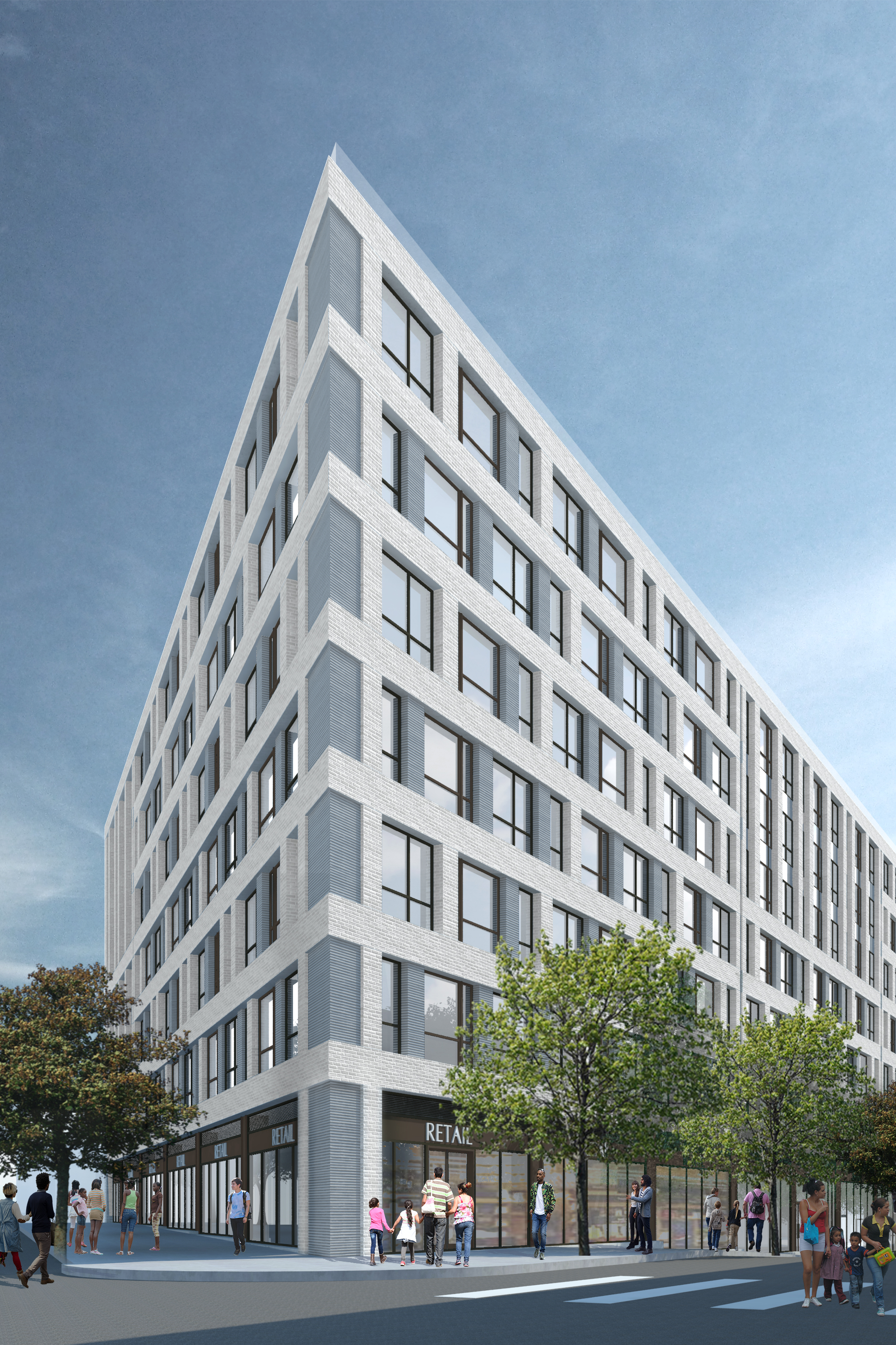 Rendering of Tiffany Court Plaza / 980 Westchester Avenue - GF55 Partners