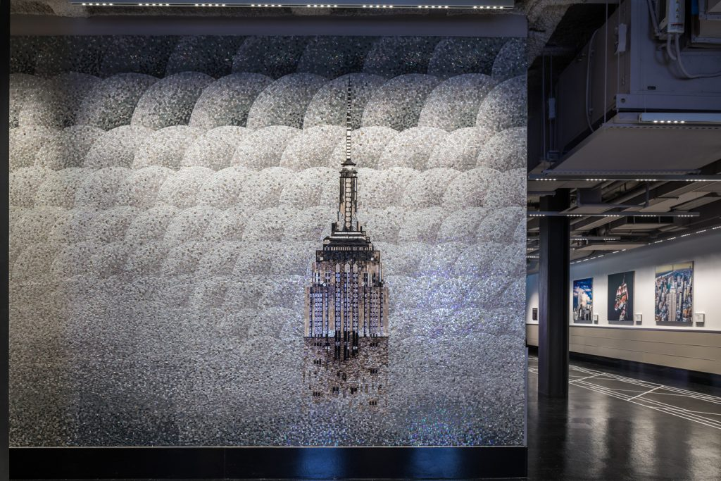 Empire State Building mosaic, image by Evan Joseph