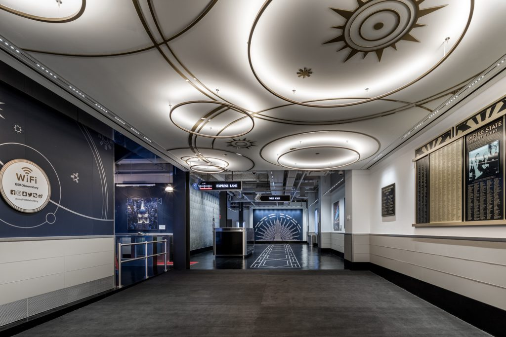 Empire State Building observatory entrance, image by Evan Joseph