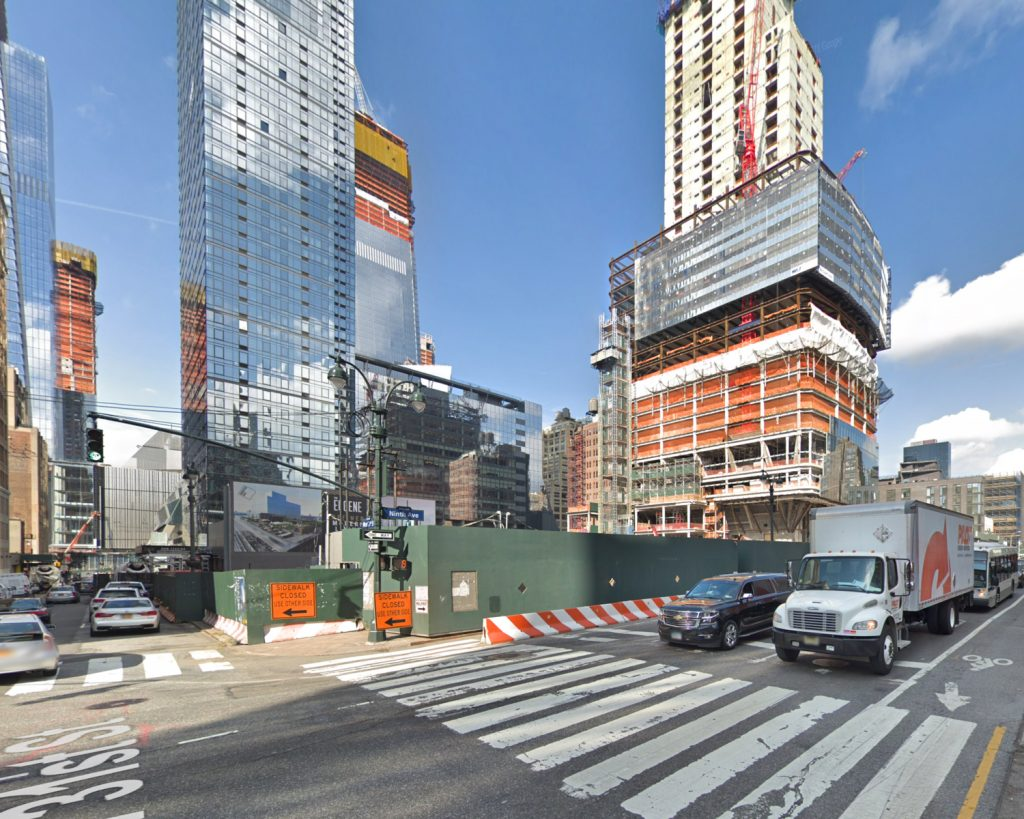 Manhattan West site in November of 2017, via Google Maps