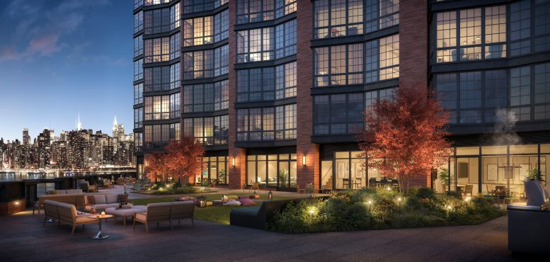 One Blue Slip Opens For Leasing in Brooklyn's Greenpoint Landing