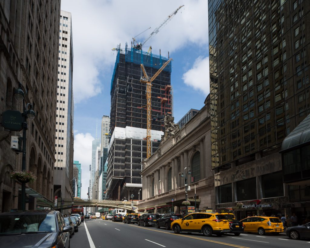 One Vanderbilt from 42nd Street near Grand Central, image by Andrew Campbell Nelson