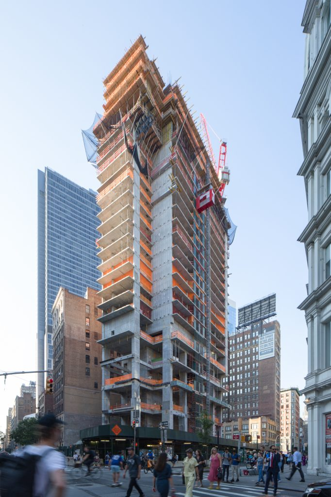 1225 Broadway, image by Andrew Campbell Nelson from early September