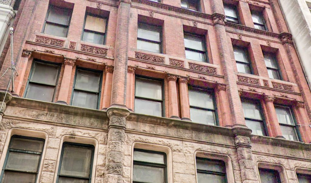 186 Remsen Street terracotta close up, via Google Maps