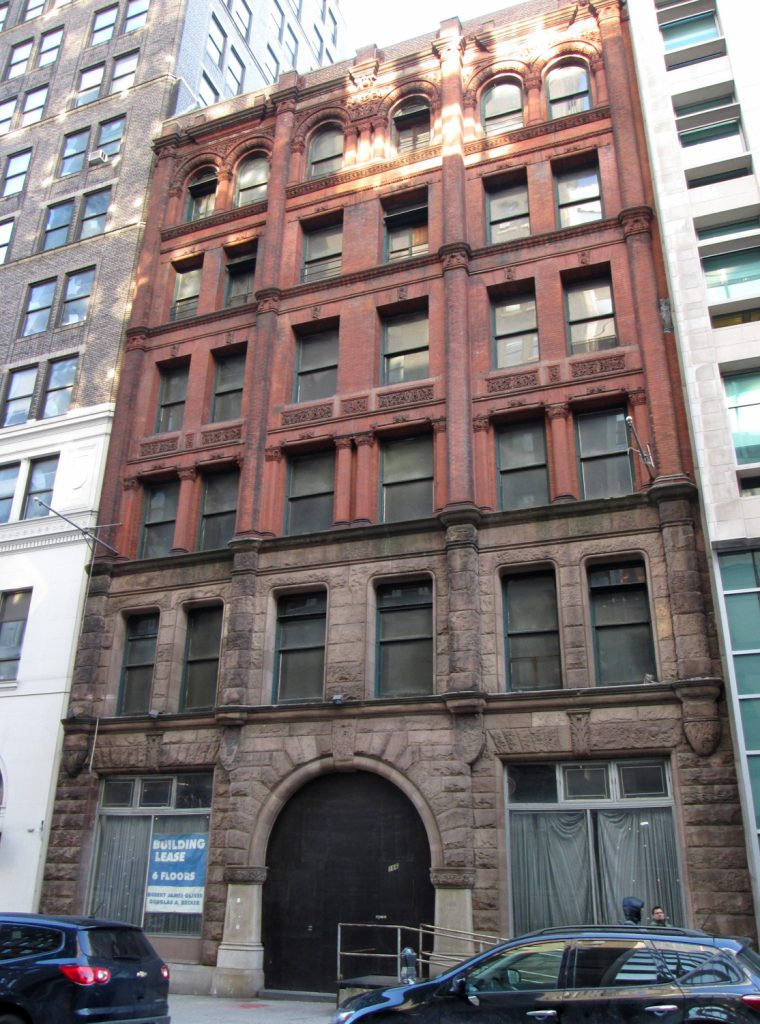 186 Remsen Street, via Wikipedia Commons