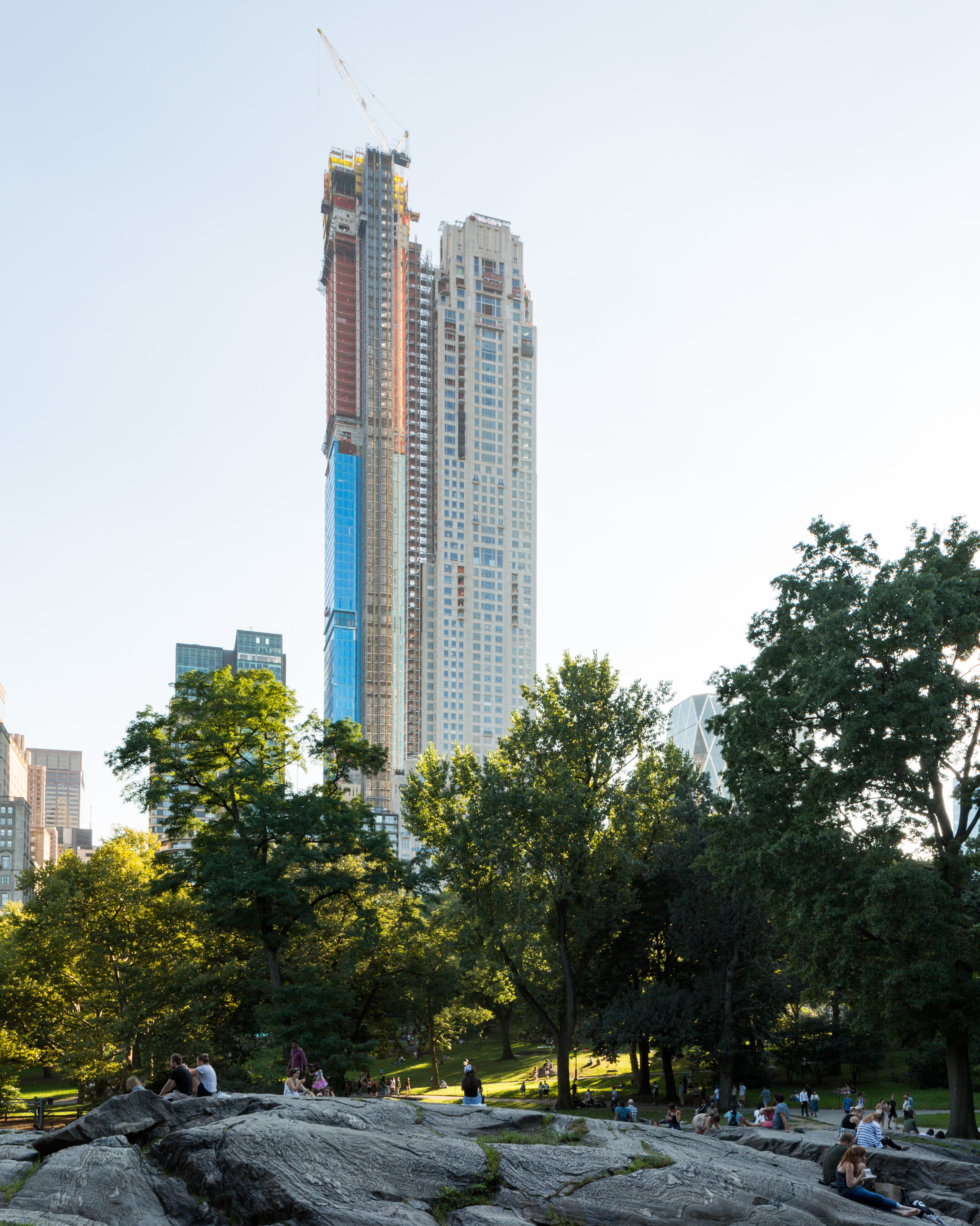 Central Park New York Condos: 220 Central Park South's Façade Almost Finished In Midtown