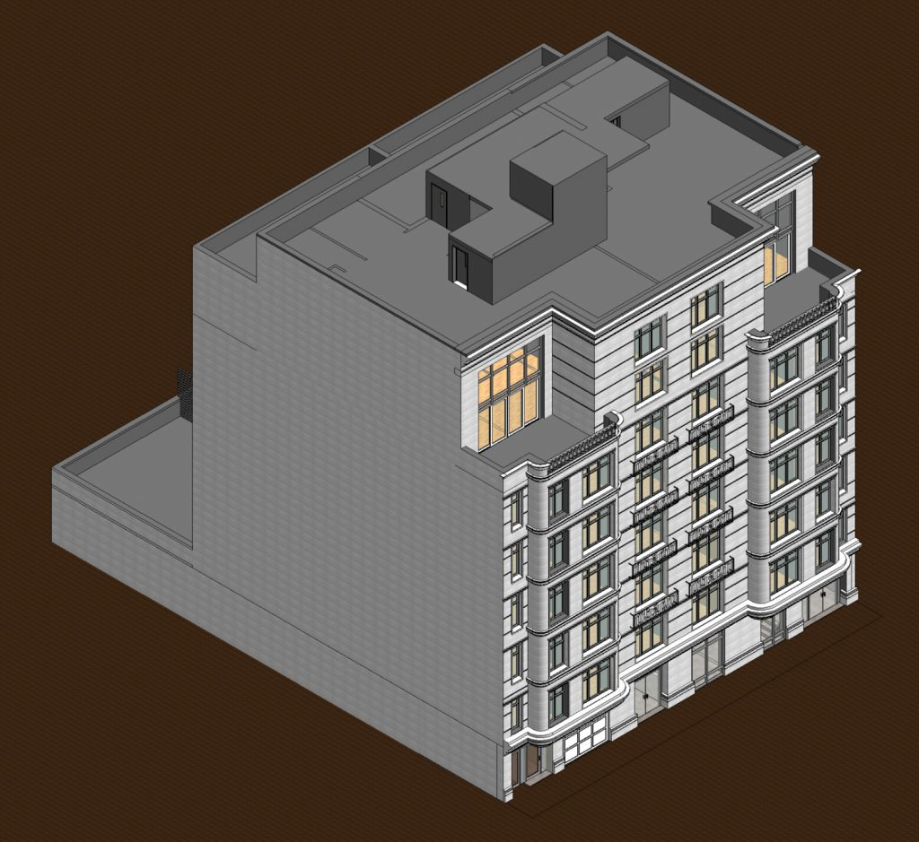 333 East 82nd Street hero view, rendering courtesy Zproekt