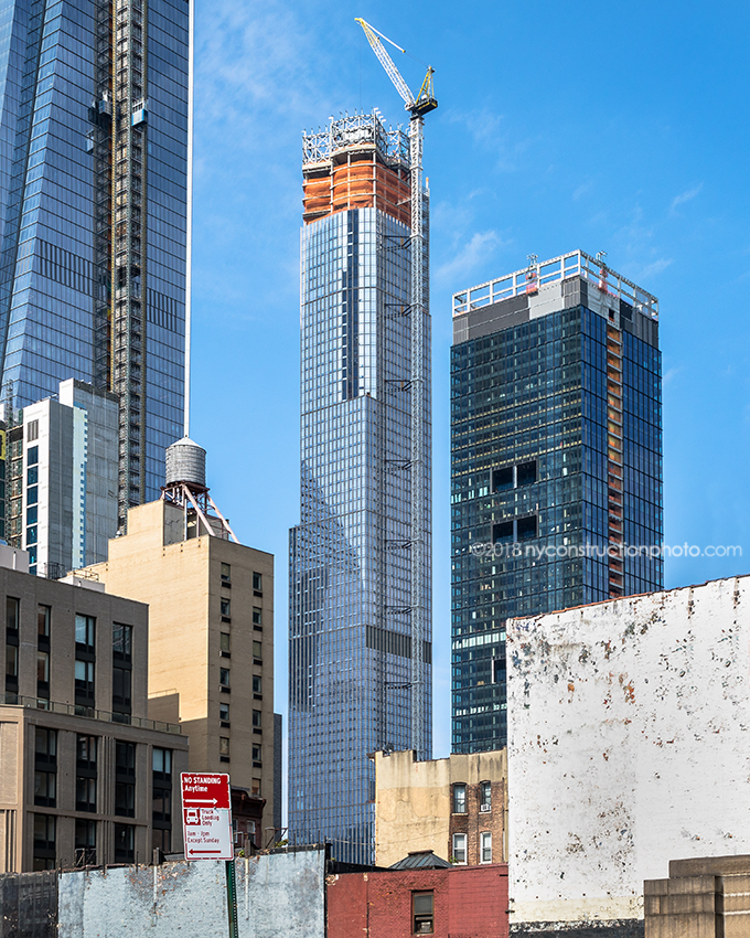 35 Hudson Yards, image by NYConstructionPhoto
