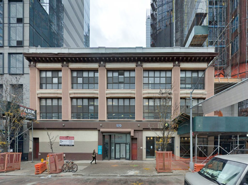 570 Fulton Street, via Google Maps