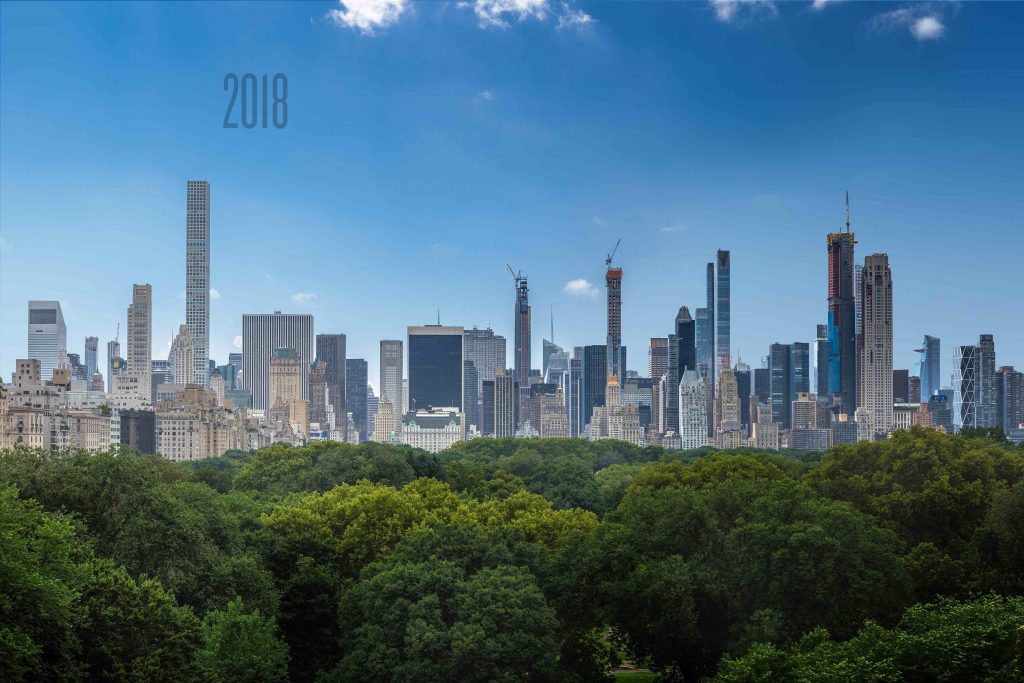 Central Park view in 2018, rendering by Jose Hernandez image by Andrew Campbell Nelson