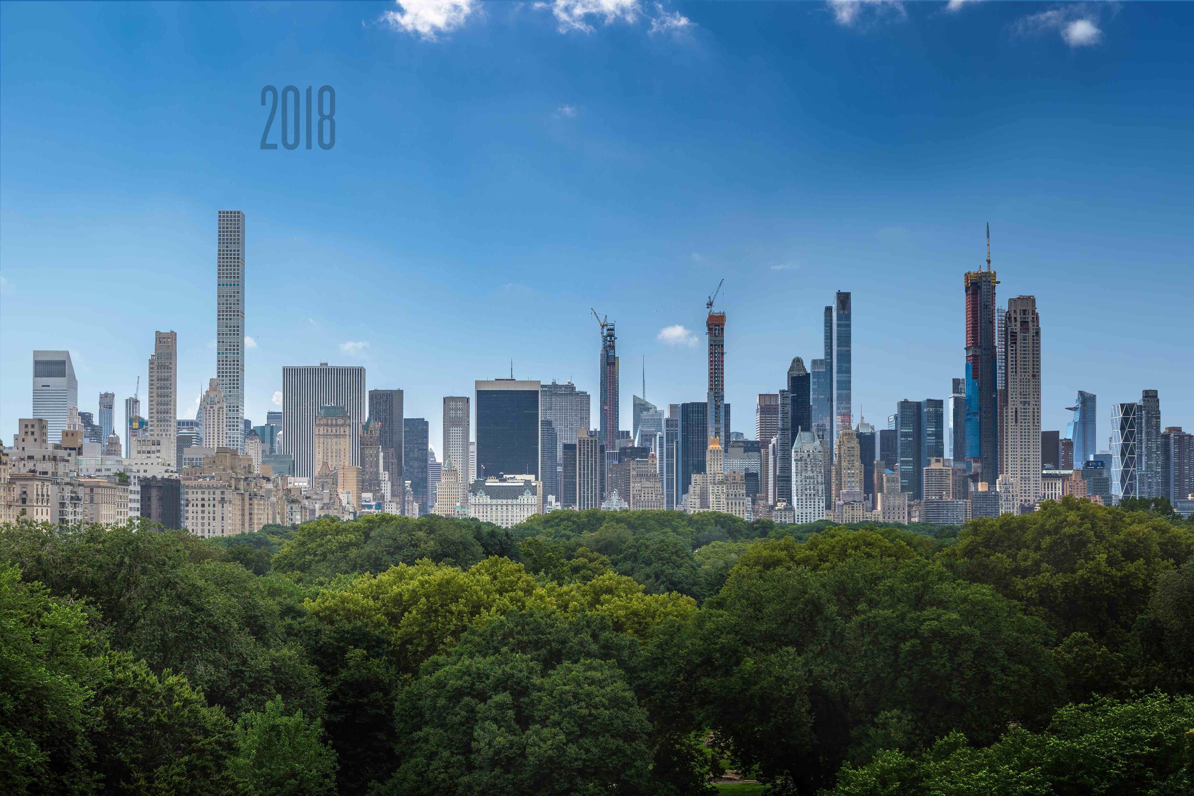 Future Look At Midtown S Supertall Skyline Circa 2022 New York Yimby