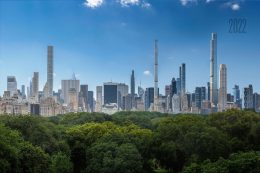 Central Park view in 2022, rendering by Jose Hernandez image by Andrew Campbell Nelson