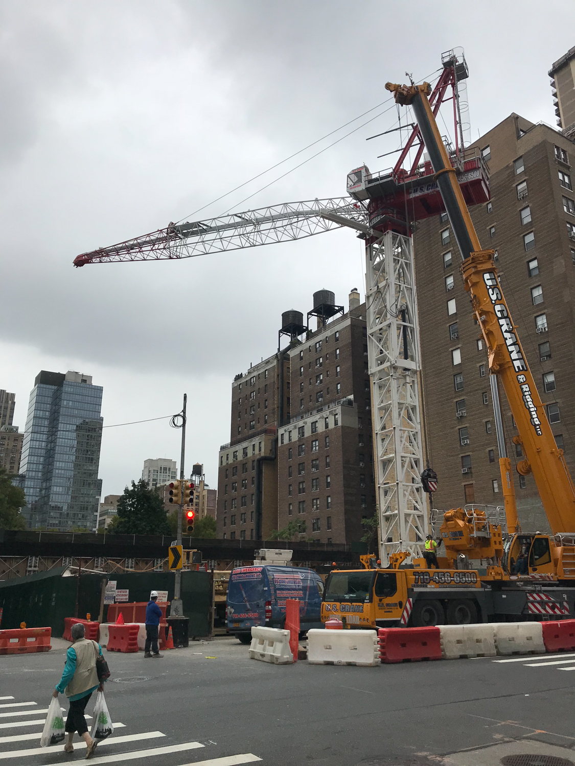 Crane Rising For The Upper West Side S Future Tallest