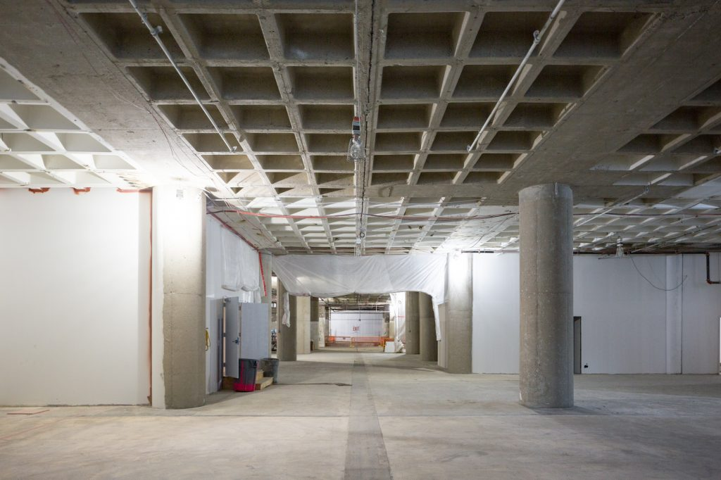 Five Manhattan West interior, will soon be publicly accessible with retail, image by Andrew Campbell Nelson