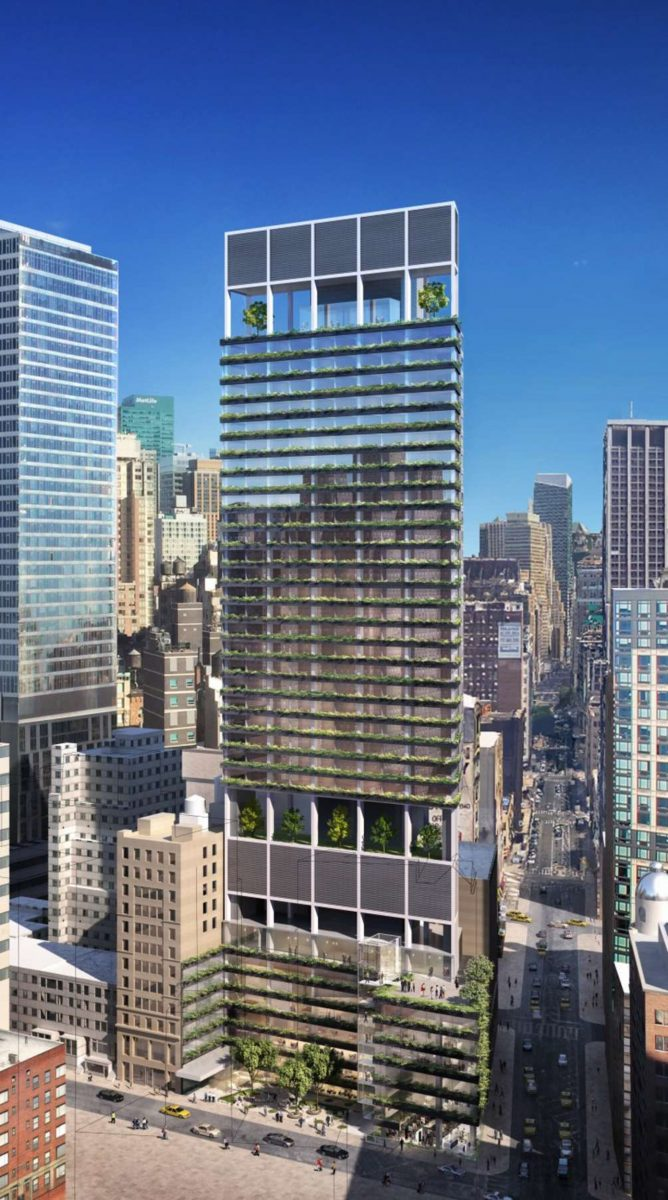 The Ritz Carlton NoMad, design by Rafael Vinoly