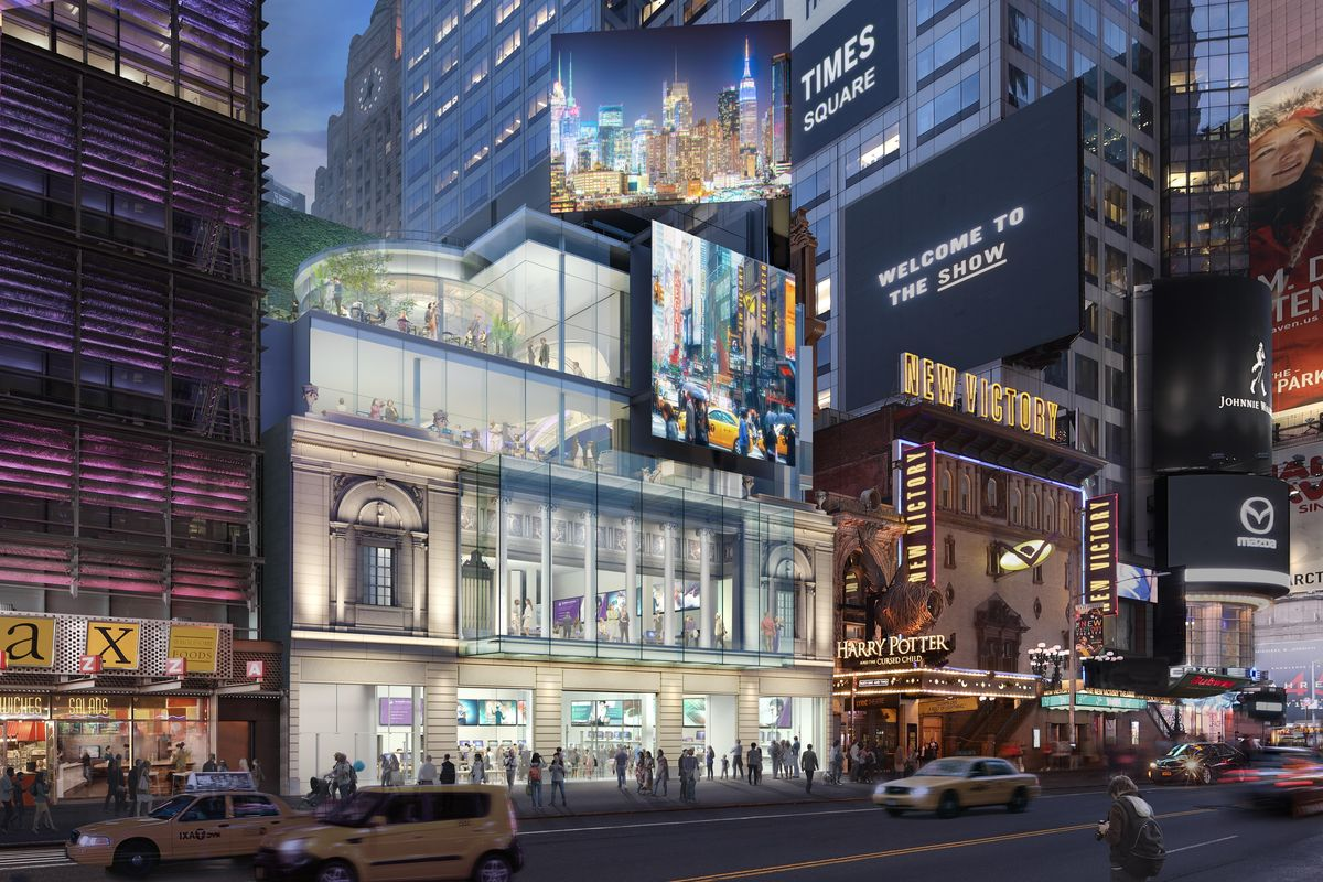 Restoration Announced For Historic Times Square Theater At
