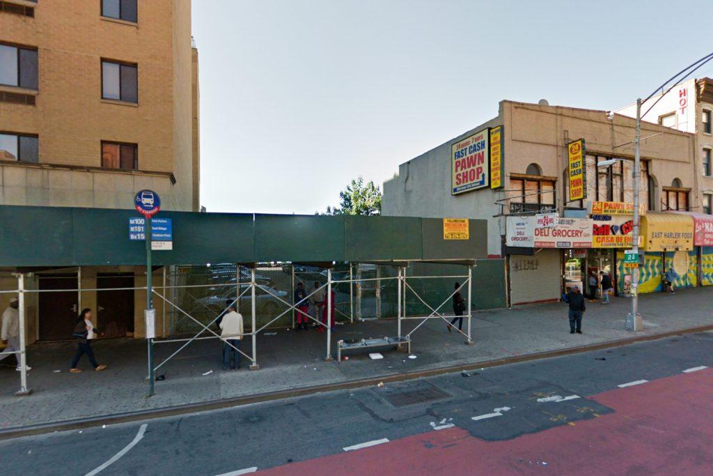 110 East 125 Street, via Google Maps