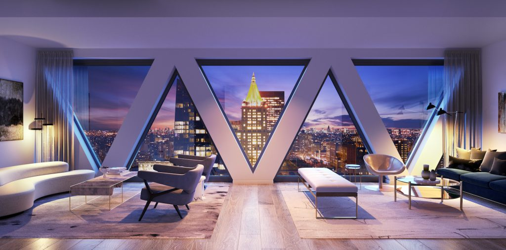 30 East 31st Street penthouse view